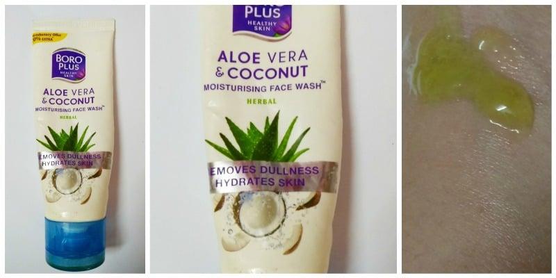 BoroPlus Face Wash Aloe Vera And Coconut Moisturizing