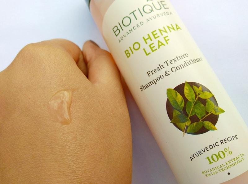 Boutique Bio Henna Leaf Fresh Texture Shampoo & Conditioner