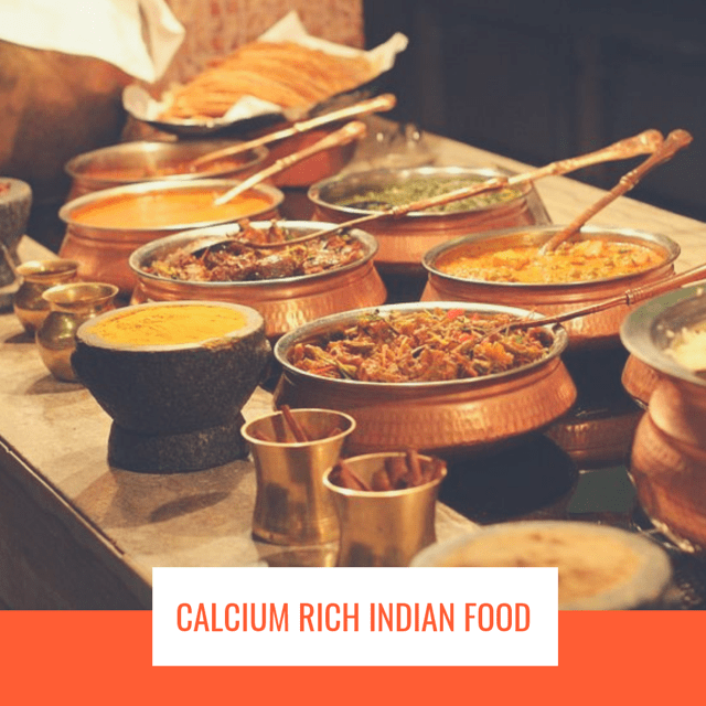 Calcium Rich Indian Food