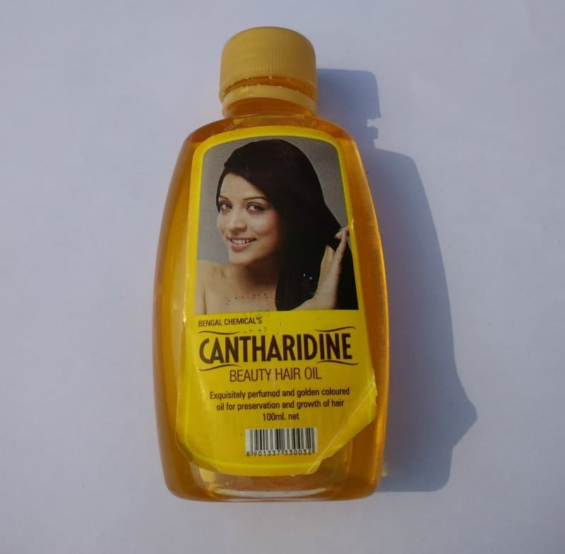 Cantharidine Beauty Hair Oil