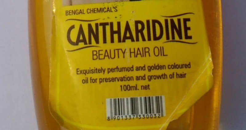 Cantharidine Beauty Hair Oil 1
