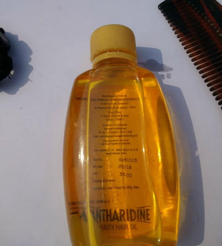 Cantharidine Beauty Hair Oil 2