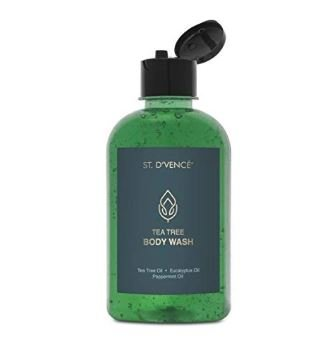 St. D'Vencé Tea Tree Body Wash With Eucalyptus Oil & Peppermint Oil