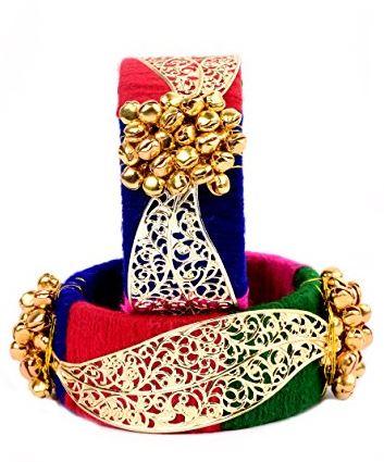 Bracelet style thread bangles