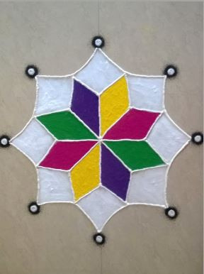 What Are Simple Rangoli Designs For Home