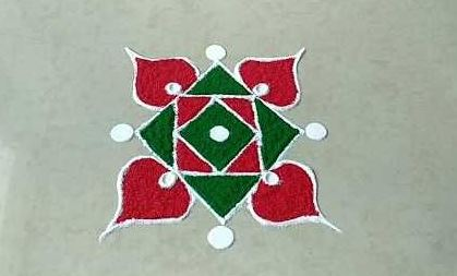 What are Simple Rangoli Designs for Home ? 1 2 6