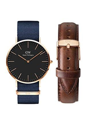 Daniel Wellington Classic Analogue Black Dial Bayswater