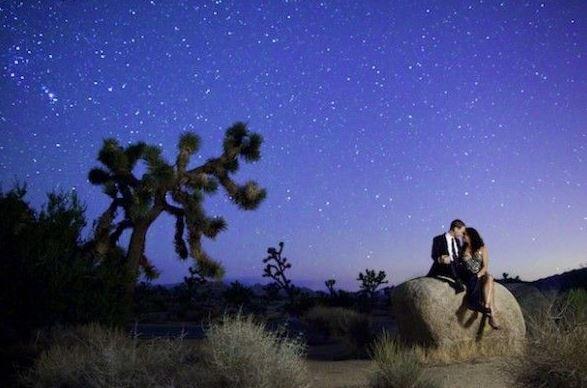 Romance under the sky