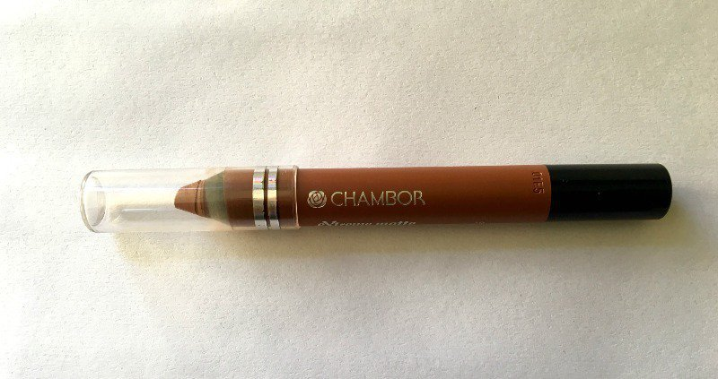 Chambor Extreme Matte Long Wear Lip Color Saddle Brown 10 1