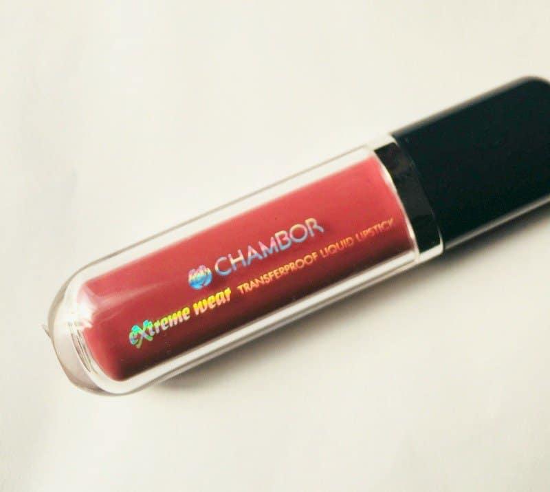 Chambor Transfer Proof Lipstick Rosemantic 401