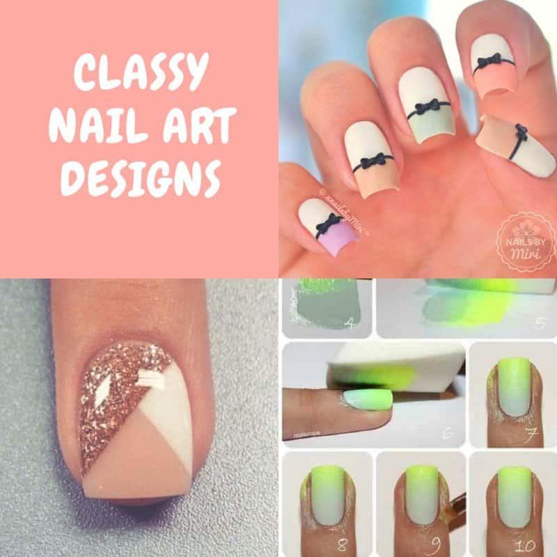 Classy Nail Art Designs