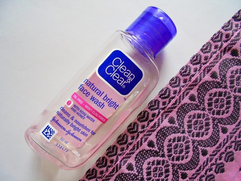 Clean & Clear Natural Bright Face Wash Review