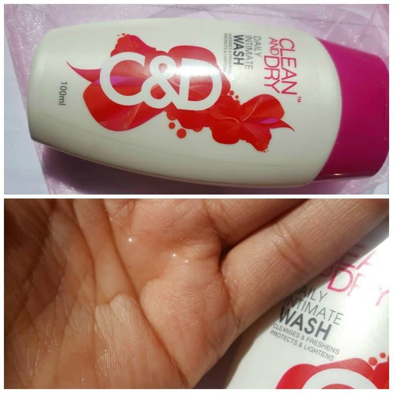 Clean and Dry Daily Intimate Wash Review 4