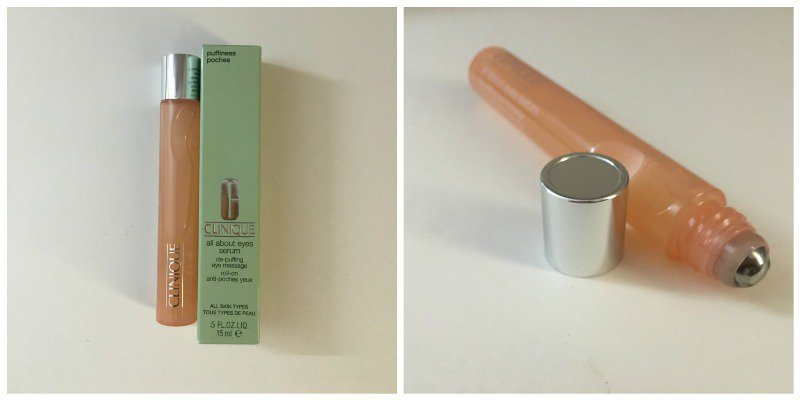 Clinique All About Eye Serum - De-Puffing Eye Massage Roll