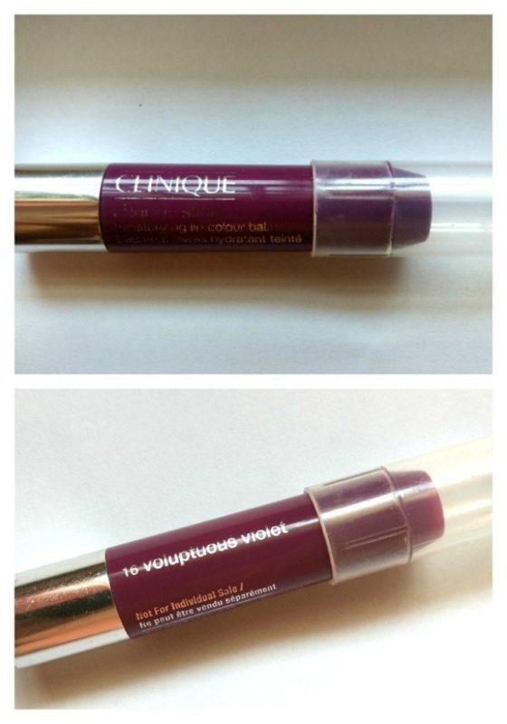 Clinique Chubby Stick Voluptuous Violet Moisturizing Lip Colour Balm Review 5