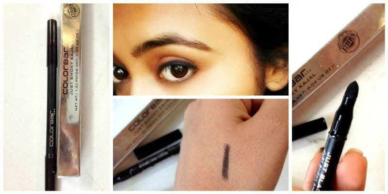 Colorbar Just Smoky Kajal Just Black 001