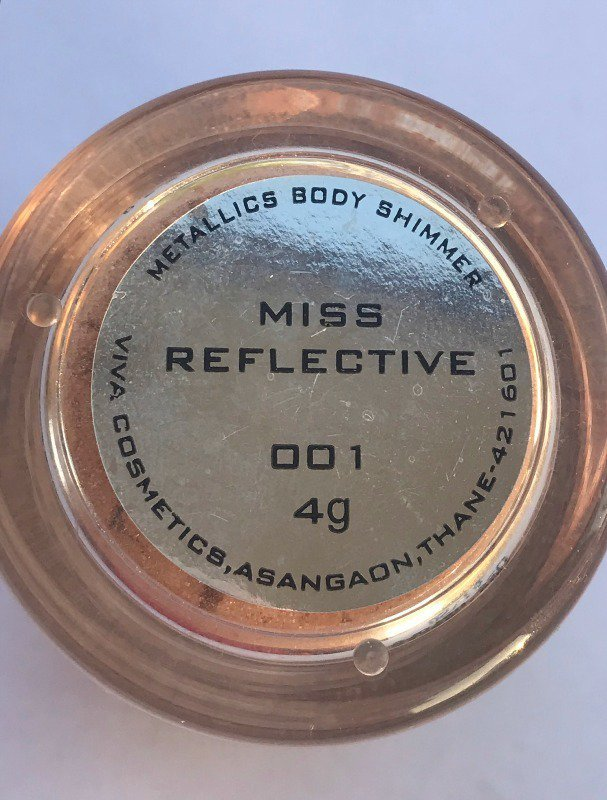 Colorbar Metallics Body Shimmer Miss Reflective 5