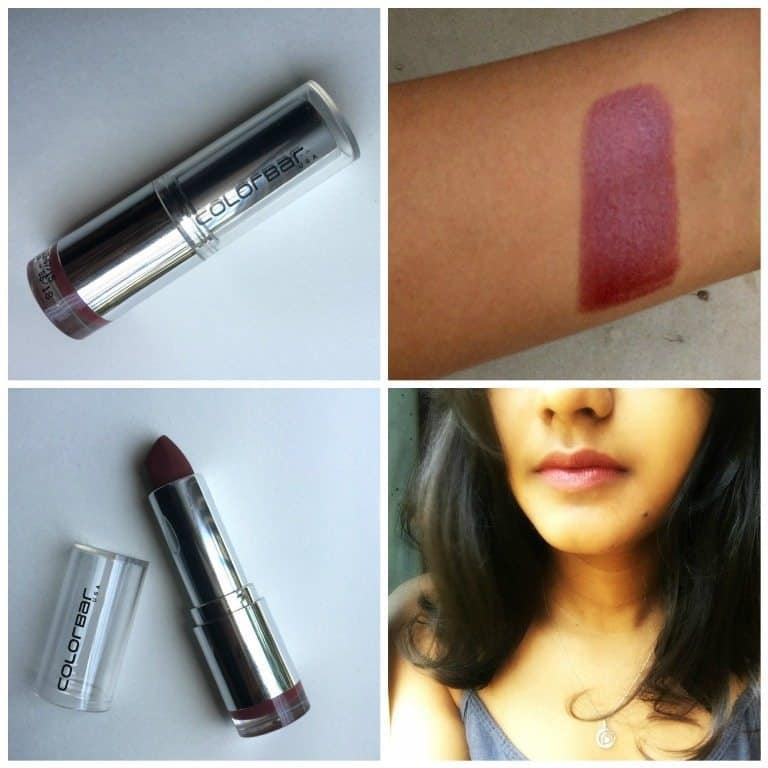 Colorbar Pure Innocence Velvet Matte Lipstick Review