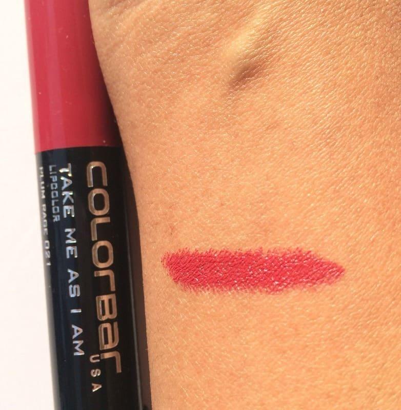 Colorbar Take Me As I Am Lipstick Plum Rage 021 3
