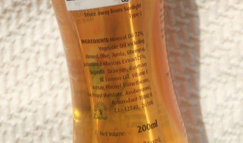 Dabur Vatika Enriched Almond Hair Oil  3