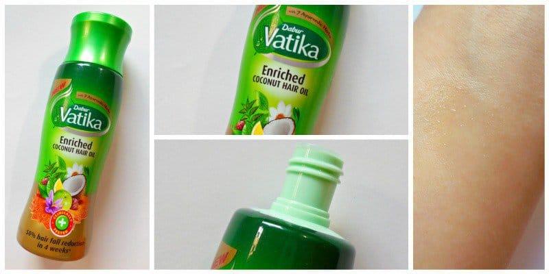 Dabur Vatika Enriched Oil