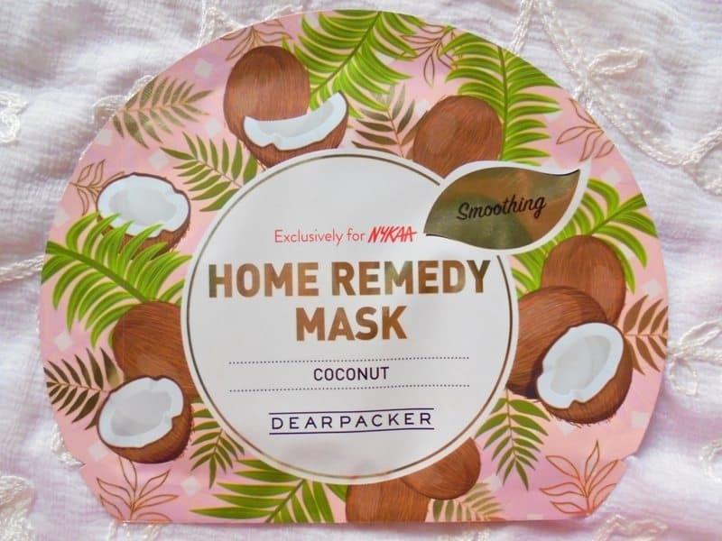 Dear Packer Coconut Home Remedy Mask