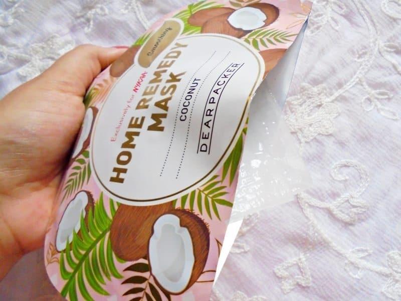 Dear Packer Coconut Home Remedy Mask 3