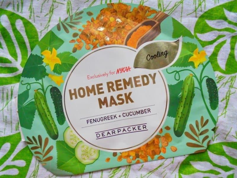 Dear Packer Fenugreek + Cucumber Home Remedy Mask Review