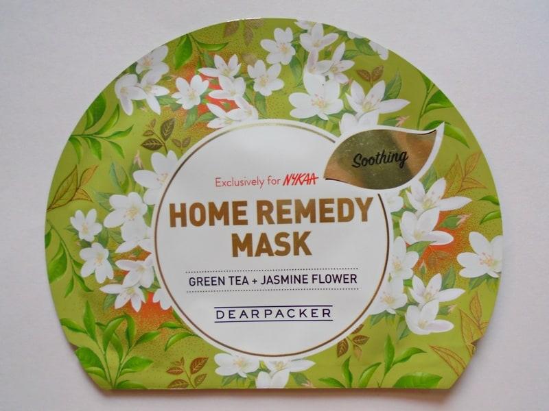 Dear Packer Green Tea + Jasmine Flower Home Remedy Mask
