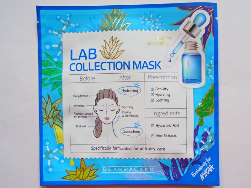 Dear Packer Lab Collection Anti-Dry & Hydrating Mask Review