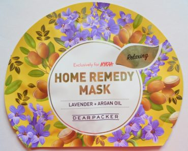 Dear Packer Lavender + Argan Oil Home Remedy Mask Review