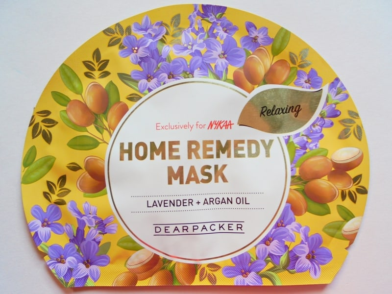 Dear Packer Lavender + Argan Oil Home Remedy Mask Review