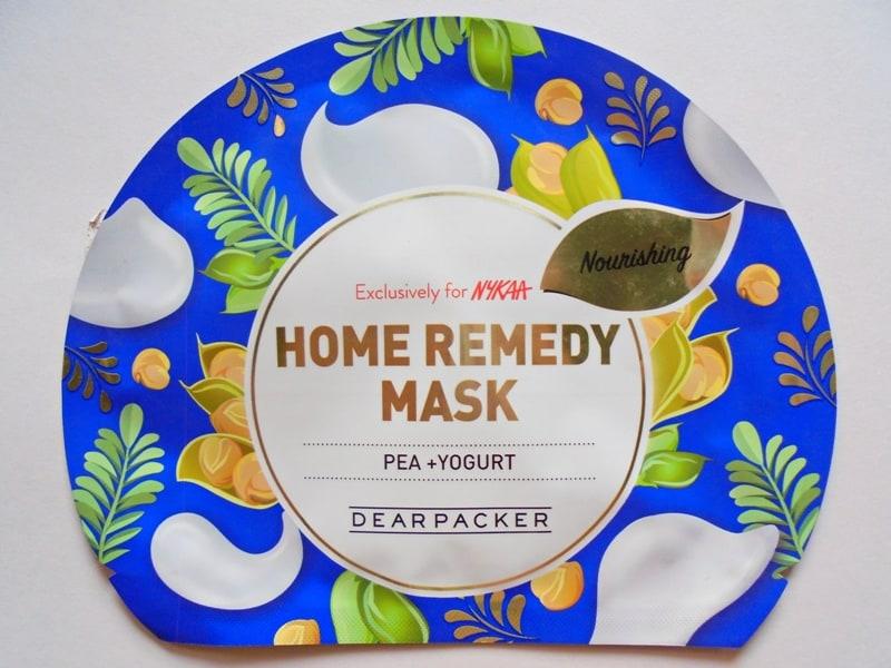 Dear Packer Pea + Yogurt Home Remedy Mask Review