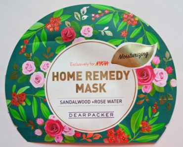 Dear Packer Sandalwood + Rose Water Home Remedy Mask Review