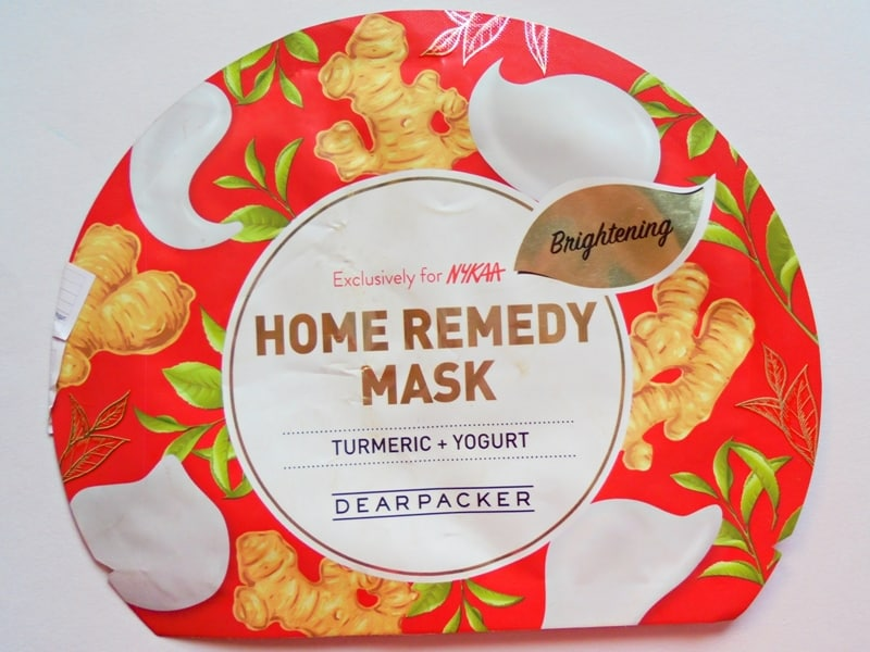 Dear Packer Turmeric + Yogurt Home Remedy Mask Review