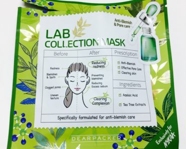 DearPacker Anti-Blemish & Pore Care Lab Collection Mask 2
