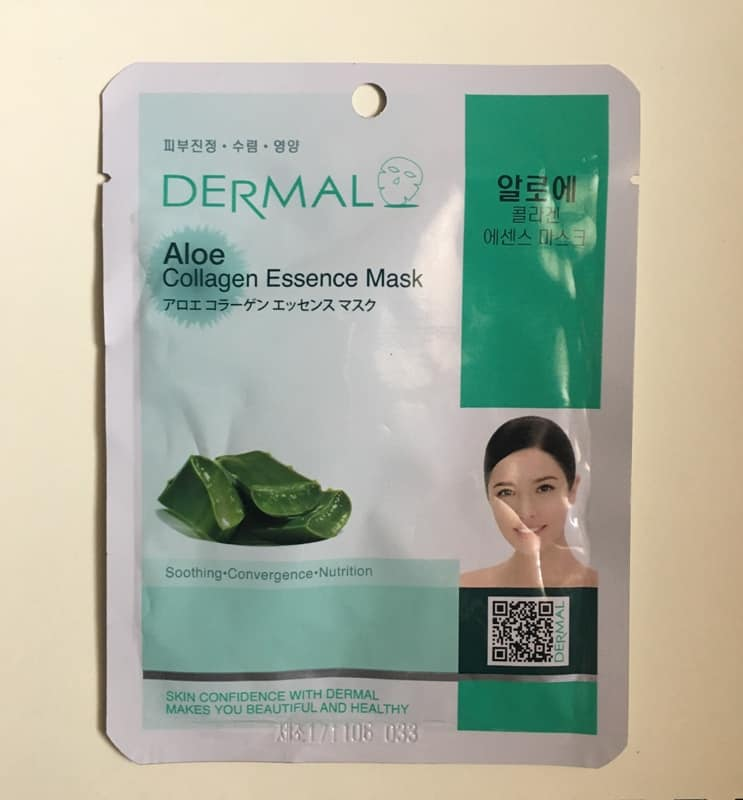 Dermal Aloe Collagen Essence Mask