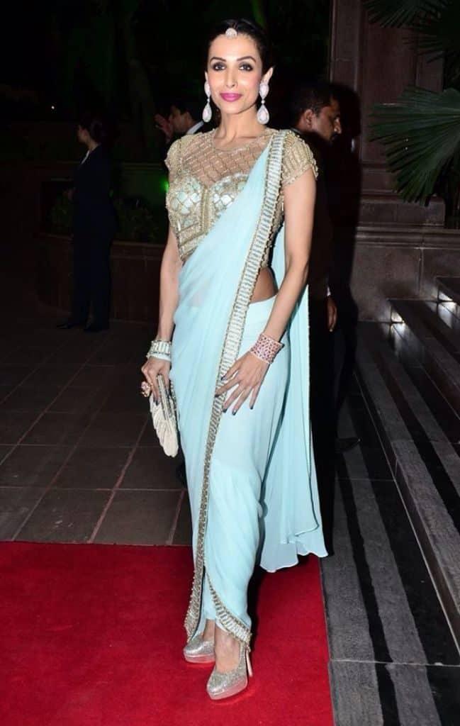 Dhoti Sari Fashion Look of The Day + How to Drape ! 2