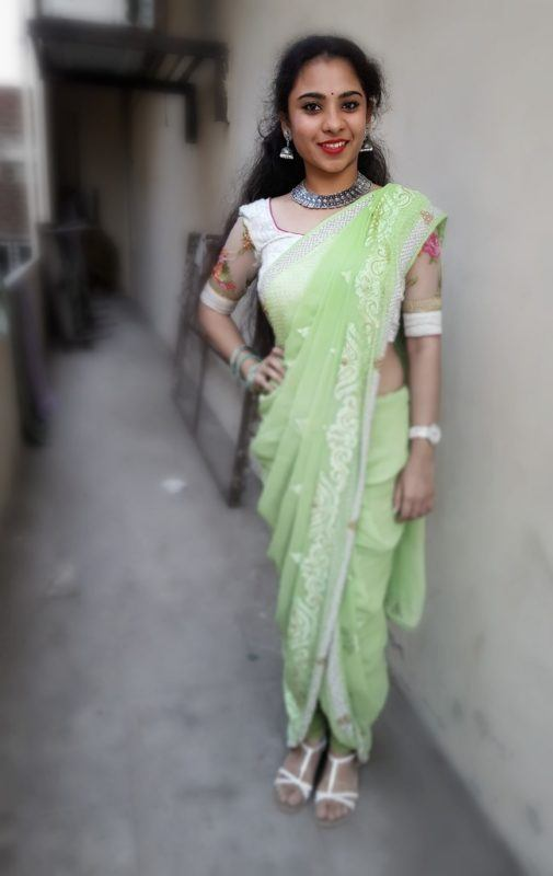 Dhoti Sari Fashion Look of The Day + How to Drape ! 3