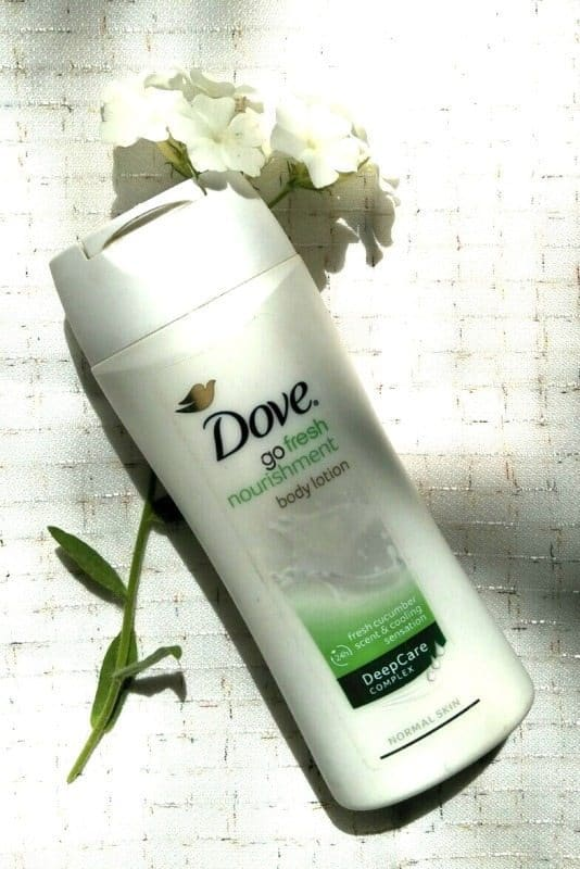Dove Go Fresh Nourishment Body Lotion 3