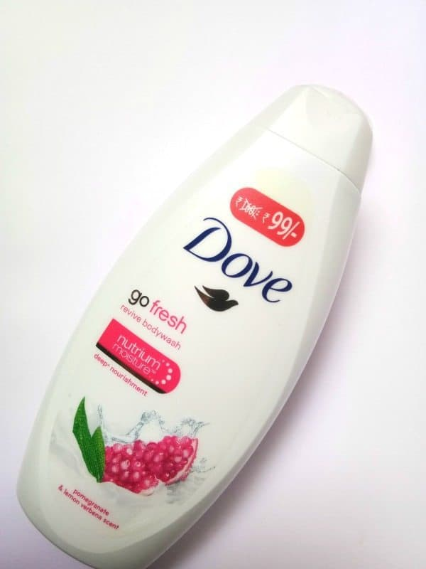 Dove Go Fresh Pomegranate And Lemon Verbena Body Wash Review