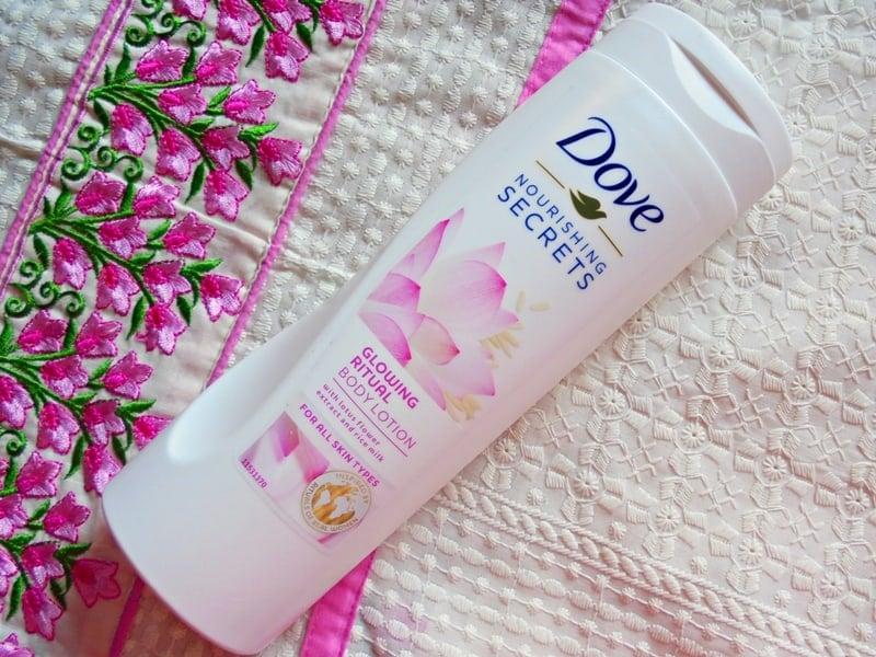 Dove Nourishing Secrets Glowing Ritual Body Lotion Review
