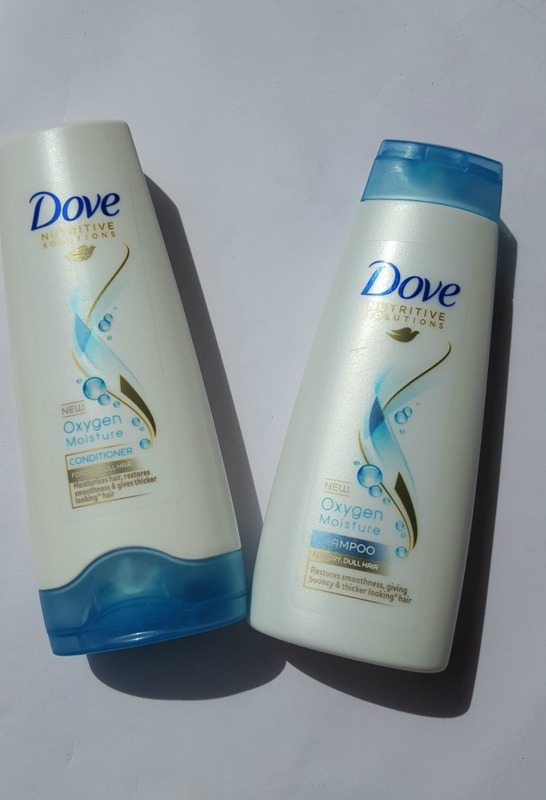 Dove Nutritive Solutions Oxygen Moisture Shampoo and Conditioner Review