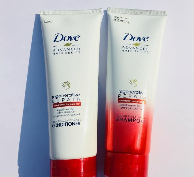 Dove Regenerative Shampoo And Conditioner