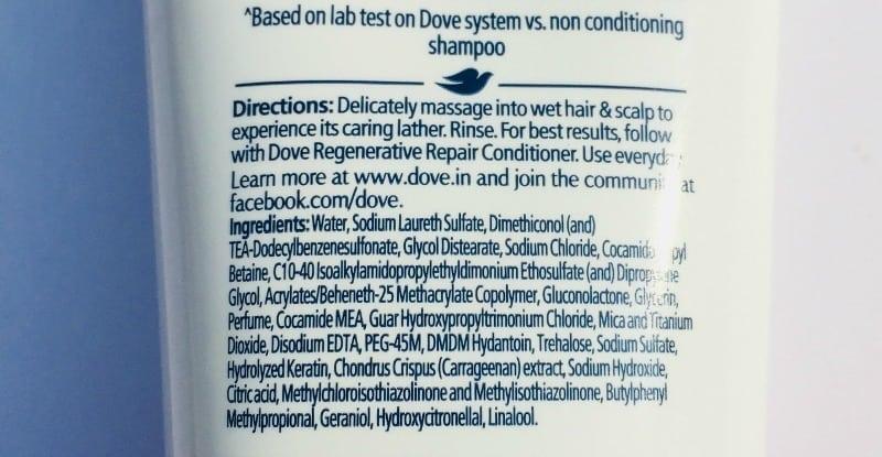 Dove Regenerative Shampoo And Conditioner 1