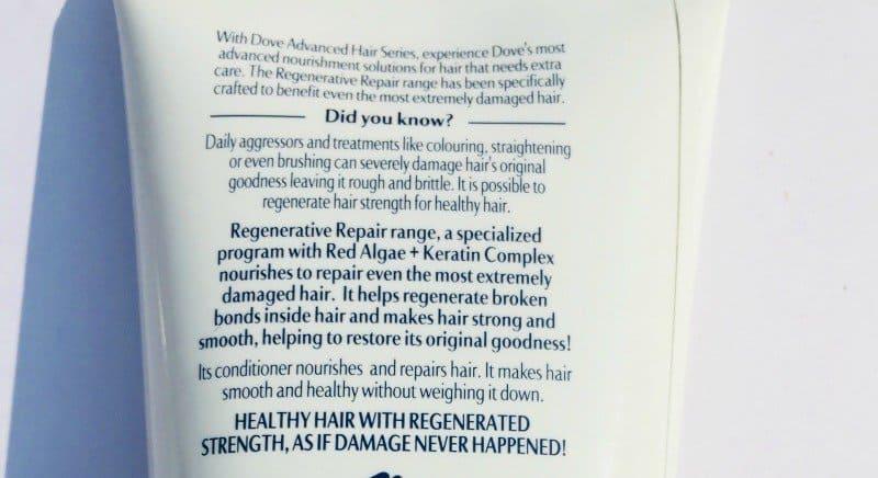 Dove Regenerative Shampoo And Conditioner 3