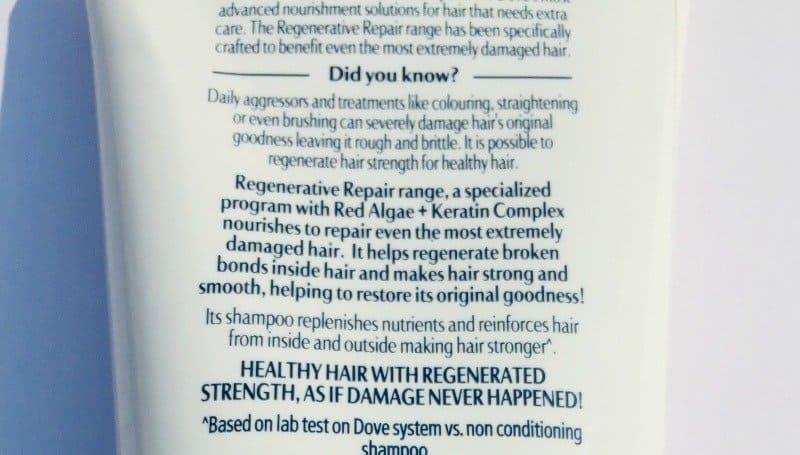 Dove Regenerative Shampoo And Conditioner 4