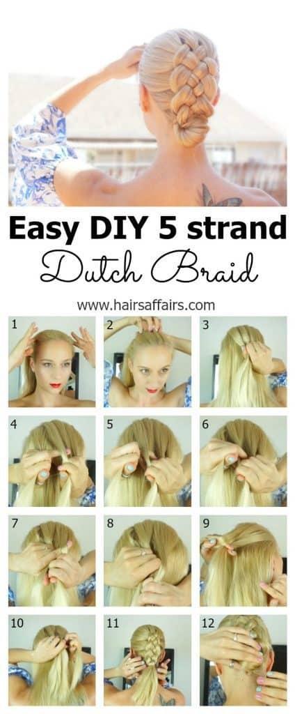 Dutch Braid Tutorial
