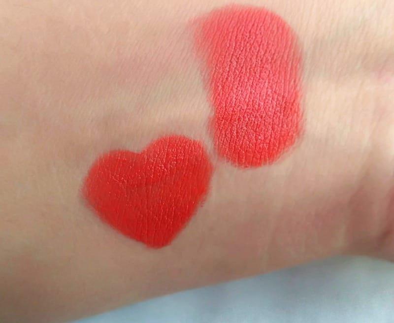 Elle 18 Color Pop Matte Lets Tango Lip Color 2