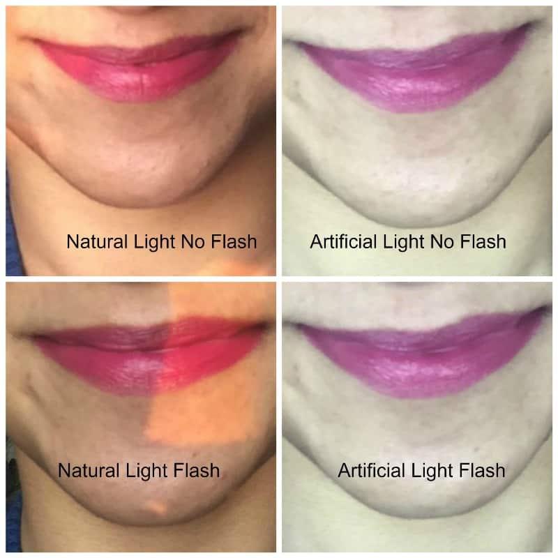 Elle 18 Color Pop Matte Lip Color Pink Show Review 3